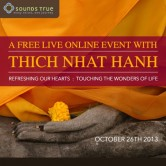 A Free Live Online Event with Thich Nhat Hanh